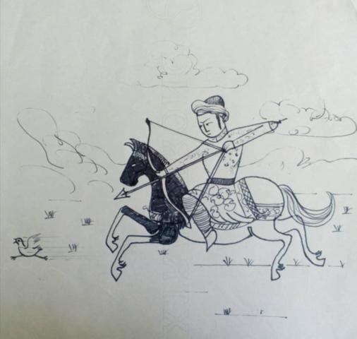 کاریکاتور استاد مظلومی پور